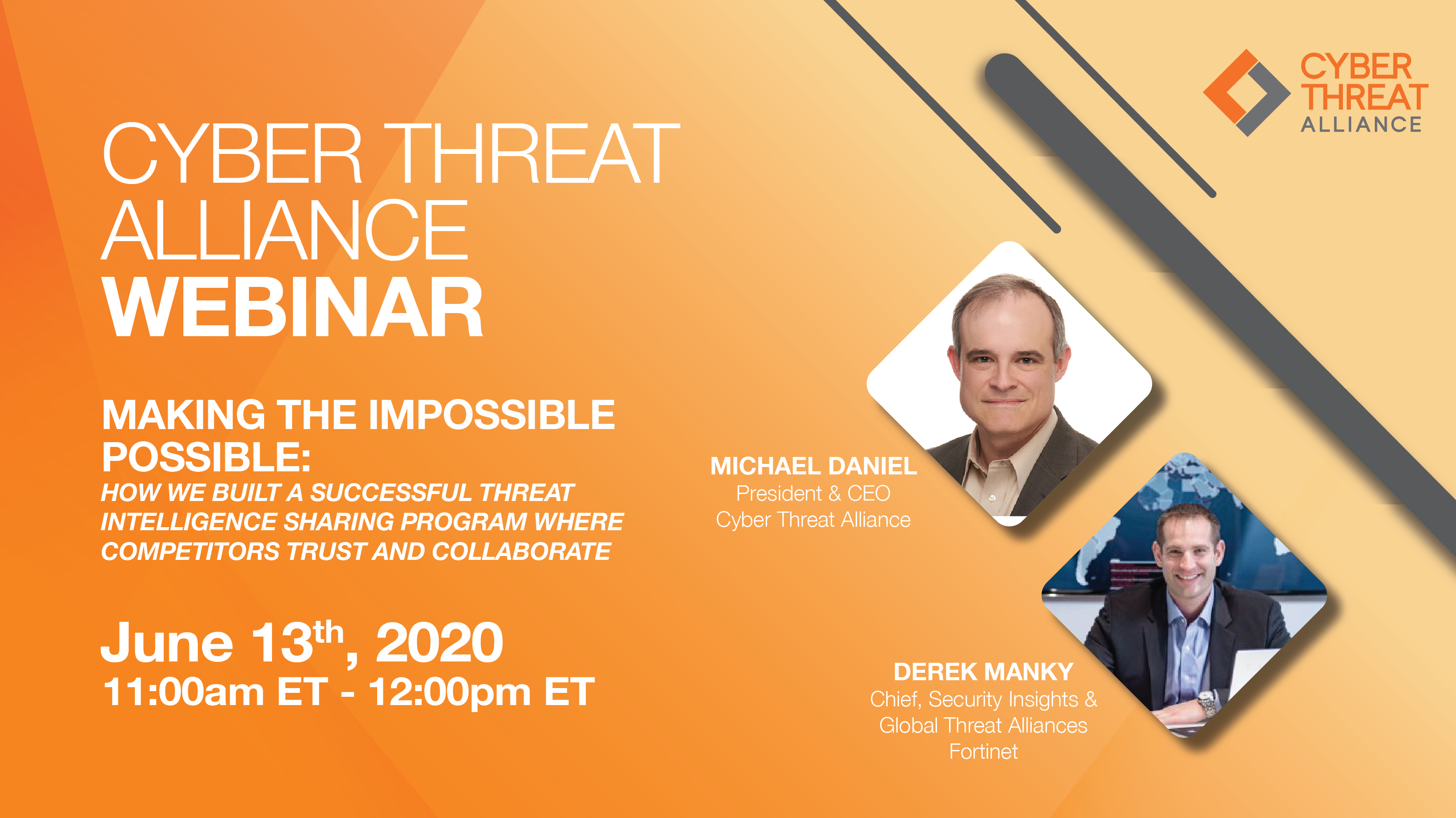 Watch the CTA Webinar, Making the Impossible Possible on June 13th at 11AM ET.